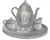 Celtic Pewter Tea Set