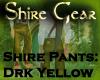 Shire Pants DrkYellow