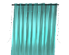 !S Teal Curtain