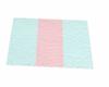 towel no pose blue/pink