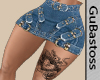 Mini  Saia e Tatuagem