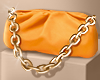 ✨Orange Chain Pouch