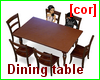 [cor] Dining table