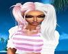 Olwenn Pink/White