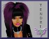 {CRh} TENDRI Black/Pink