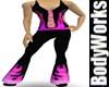 BubbleGumFlames BodySuit