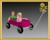 Pink Kiddie Wagon*