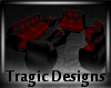 -A- Gothic Couch Set
