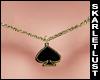 SL Spade Necklace