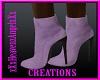 Purple Sexy Sude Boots