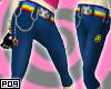 $Mew Kitty Raver Jeans