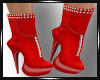 Saera Red Boots