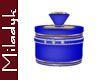 MLK Blue Diamond Jar