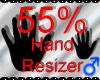 *M* Hand Scaler 55%