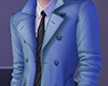 [NR]Trench Coat Blue