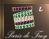 PdT MardiGras Bracelet L