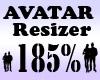 Avatar Resizer 185%