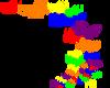 Rainbow Butterflies (R).