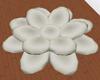 Pale Cream Lotus Seat