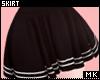金. Black Skirt