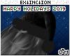 #dark santa hat