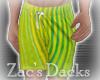 [ZAC] Shorts Lime