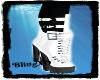 Bling White Boot