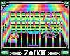 rainbow hamster cage
