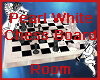 Pearl White Chess Room
