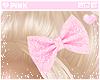 ♔ HeadPin e Bow Pink