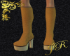 *JR Platform Boots Brn