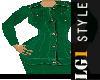 LG1 Green Skirt Suit PF
