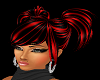 Red Tinted Ponytails