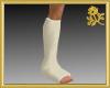 Male Right Leg Cast