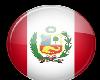 Peru Button Sticker