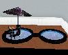 piscine black rose