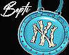 ! Blue NY Handbag