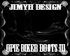 Jm Opie  Biker Boots III