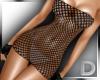 D/ Netted Black Dress