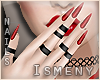 [Is] Diabolic Red Nails