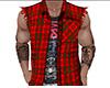 Red Sleeveless Jacket 2