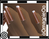 *m Copper Dainty Nails