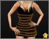 C2u Mini Dress Gold