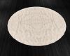 Cream Fur Rug