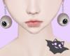 ☽ Earrings Eye