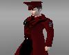 Red IronCross Coat