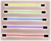 !© Rainbow Neon Bars