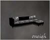 Black Club Sofa