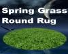 Spring Grass Round Rug
