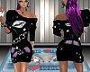 {LS} black Kiss dress